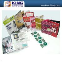 high quality audio grerting card for birthday Best selling muslim wedding invitation card with sound module