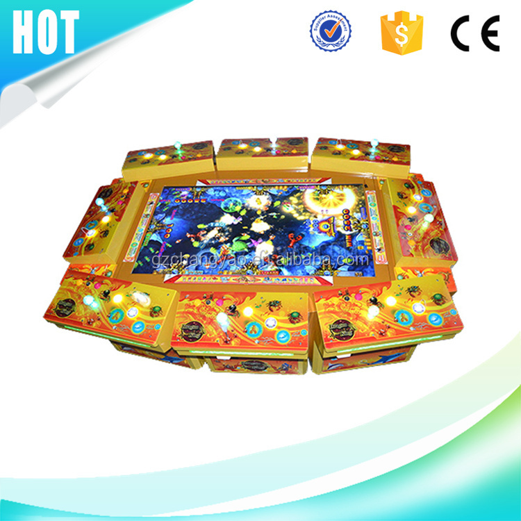 2017 Hot Selling IGS Thunder Blue Dragon Funny Fish Game Outlet Mini Arcade Manufacturer