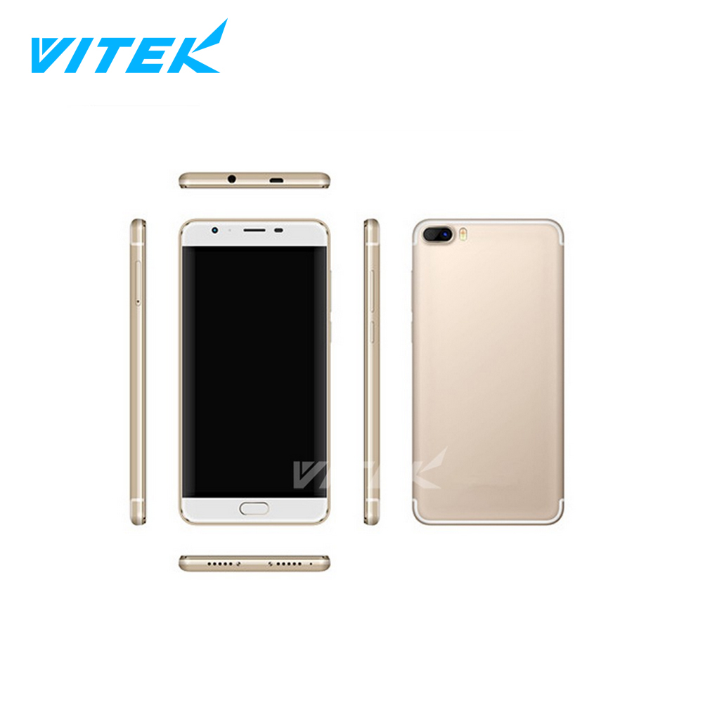 Factory Direct 2017 Vitek Cheapest 4G LTE Phone, China Made Mobile Phone 5.5 Inch 4G LTE, OEM Super Smallest 4G Phone