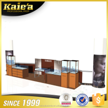 Newest glass jewelry display showcase jewelry kiosk furniture for shop