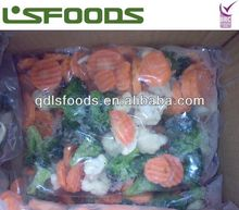 Chinese frozen IQF mixed vegetables