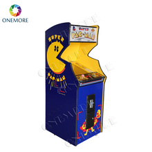 19 inch Smile Pacman / Galaga / Donkey Kong upright arcade cabinet with classical games