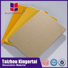 Alucoworld water resistant kitchen wall panels aluminum wall cladding exterior sheet metal
