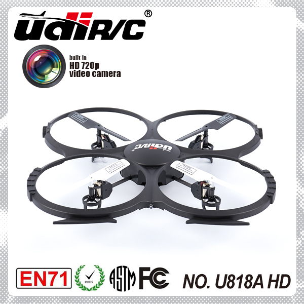 Headless function 2.4G 4-axis ufo aircraft quadcopter with HD camera