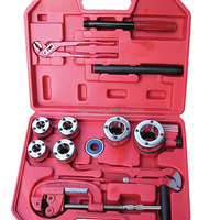 Pipe Threading Tools With Ratchet Handle