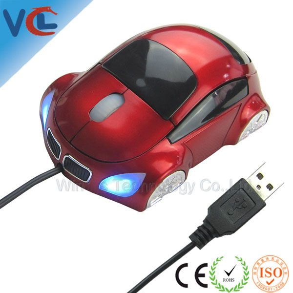 Car Shaped Wired Mouse_Drivers Usb 3d Optical Mouse