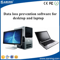 Data loss prevention software for desktop and laptop