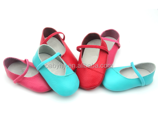 Popular soft sole kids shoes Leather dress shoes for baby girls