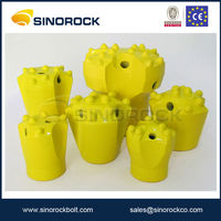 Sinorock core drill bit for rock drilling machine