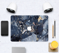 factory price natural marble texture skin for marble macbook cover case