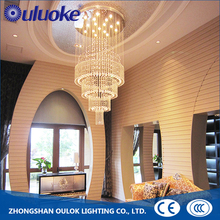 Hot Sale Luxury Modern Glass Chandelier Crystals Pendant Light