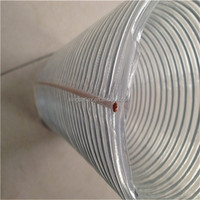 good quality spiral steel wire reinforced large diameter pvc tube