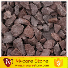 cheap red aggregate crushed stone price