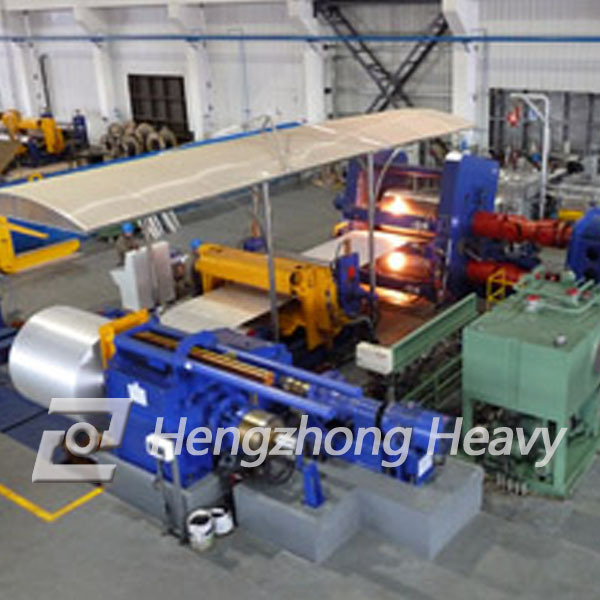 high quality alumminum casting rolling machine line with good price