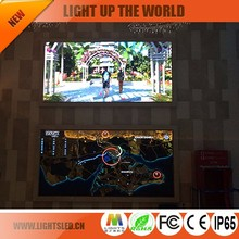 HJY Advertising P6 LED Rental Matrix Sign Board Display, Stage Background Indoor Full Color Scrolling Video Wall Panel 50X50