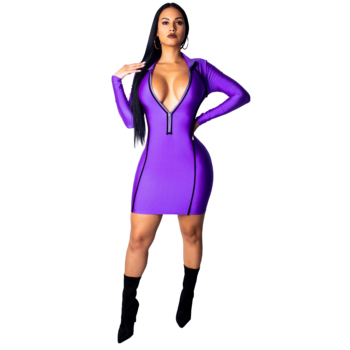 Wholesale sexy tight mini dresses for party wear