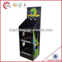 2014 customized Paper pop up display stand