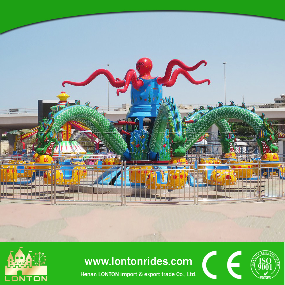 Amusement Park Items for Sale Crazy Octopus Rides Open Hot Sexy Girl Video