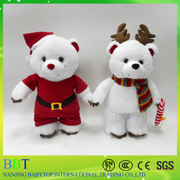 The new Christmas online shopping stretch the Santa Claus snowman elf doll window display doll