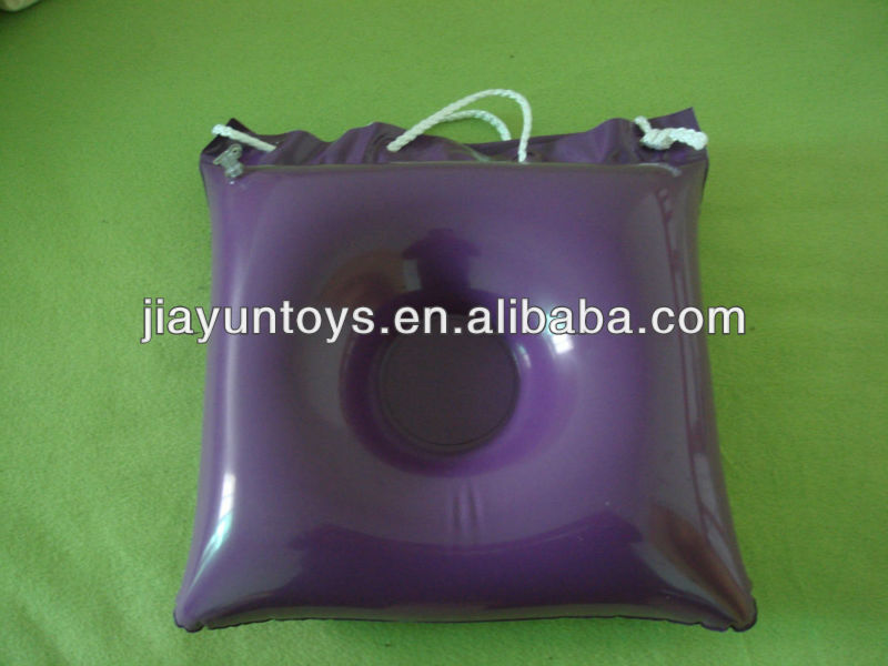 pvc inflatable pillow bag with logo printing