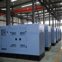 230/400V Chine alibaba products slient type water cooled diesel generator set