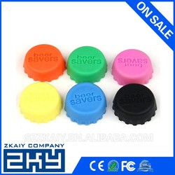 Practical 100% FDA Silicone Bottle Stopper Reusable Beer Bottle Cover, Custom Silicone Bottle Cap