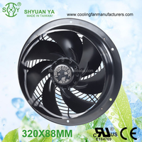 CE 220V High CFM Squirrel Cage Metal body Exhaust Fan