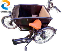 Front loading Two wheels cargo bike