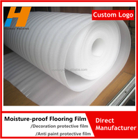Moisture-proof Decoration Flooring Protective Plastic Film EPE Film Underlay