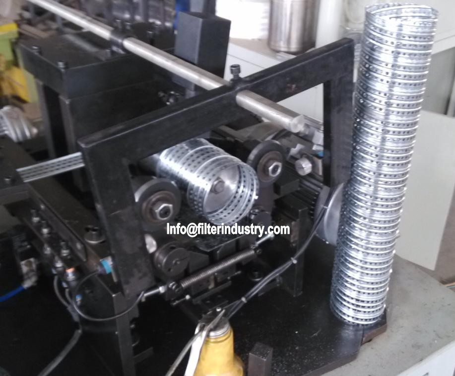Oil filter Spiral Tube (Filter Core) Making Machine