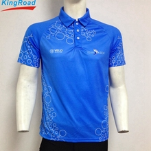2018 Dry fit sublimated sport custom polo shirt wholesale china