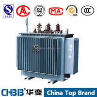 Distribution Transformer 500 KVA 11/0.433 KV oil immersed transformer manufacturer