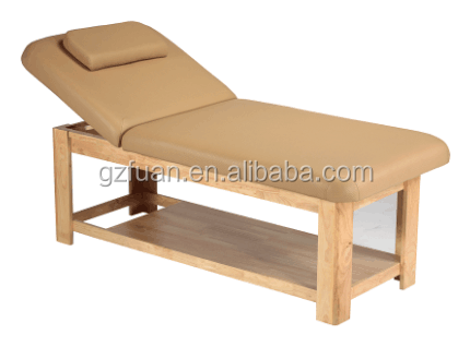 folding massage table wooden thai massage bed for salon