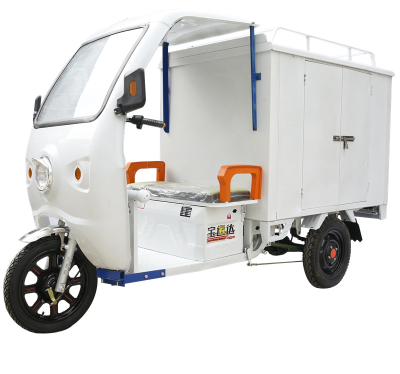 electric tricycle delivery vehicle for cargo good sale in China
