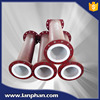 Pipe Fittingcs Butyl Rubber Lining Pipe and Pipe Fittings with High Anti-corrosion