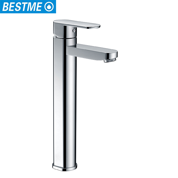 Bestme high quality single handle long neck foot pedal faucet