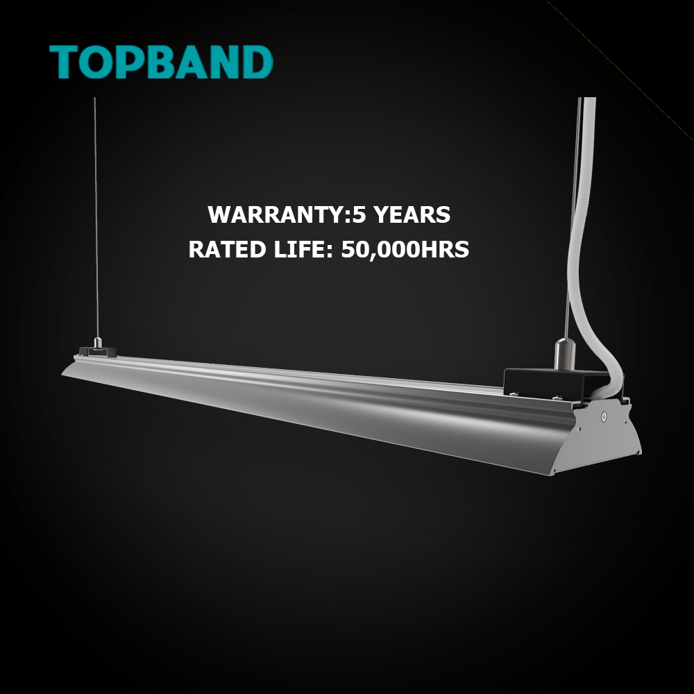TOPBAND 40W CE UL DLC RoHs Exquisite LED Shop Light LED Linear Light to Replace Fluorescent tube with High Lumen Efficacy