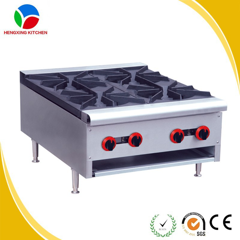 LPG Gas Range/Counter Top Stainless Steel Gas Cooker/Stainless Steel Gas Stove