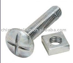 Carbon steel roofing bolts and nuts