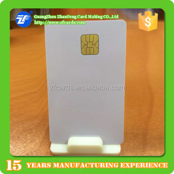 Bottom price smart contact ic chip card with sle4428