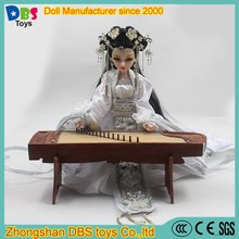 (YW-DF0102) DBS display traditional ancient chinese style decorative dolls