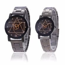 Luxury Brand Gear Wheel Analog Dial Casual Steel Band Strap Rock Sport Wristwatches MW-30