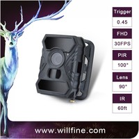 0.4 secs response time 12mp 1080p 940nm invisible ir wholesale digital trail camera
