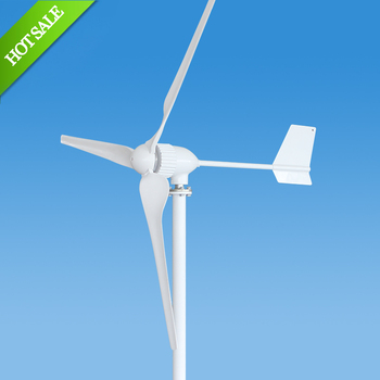 800w Chinese horizontal axis wind power generator for sale