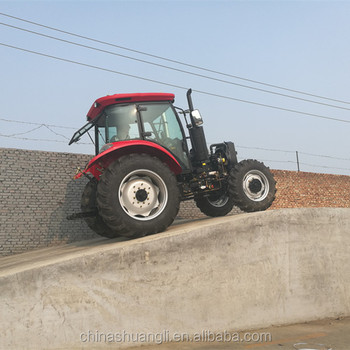 China Shuangli tractor 130 HP 4WD