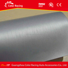Brushed Aluminum Silver Auto Wrap Color Film