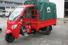 motorized drving typed and open body three wheel passenger rickshaw tricycle