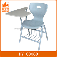 attached new modern school desk and chair