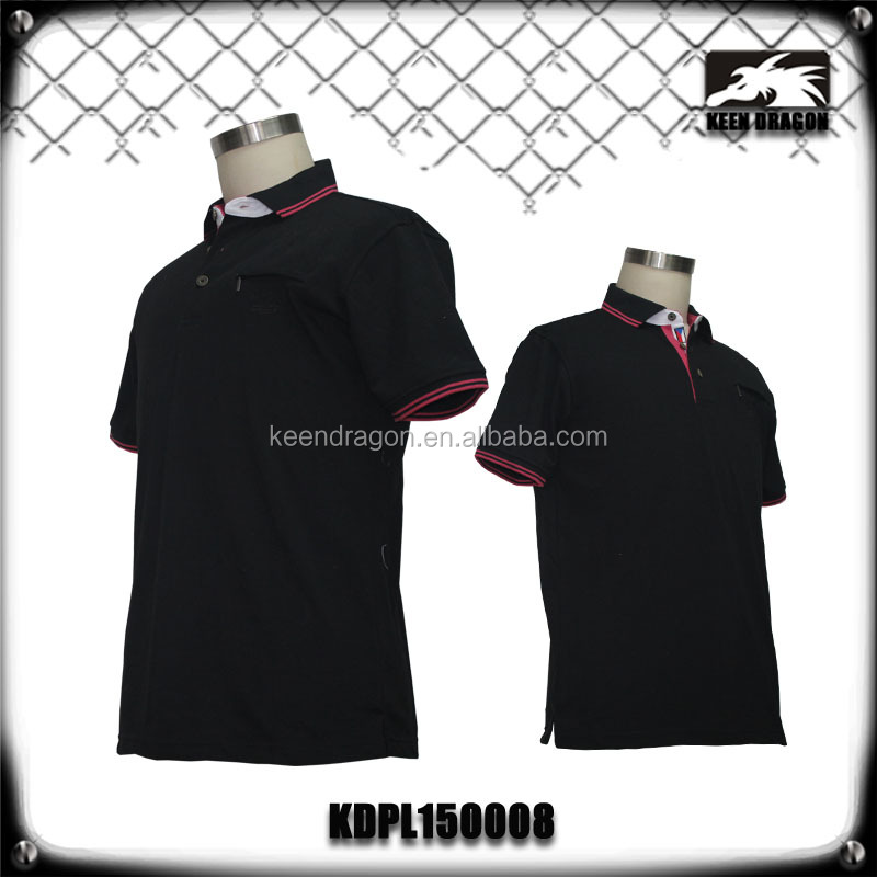 Mens Knit Dri Fit Custom Design Printing Cheap Polo Shirts