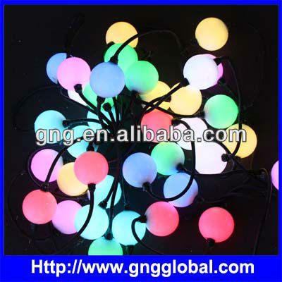 dmx 3d double cane ball decoration lights
